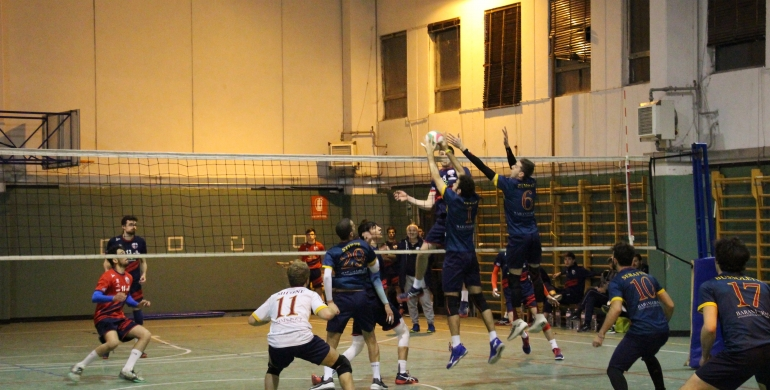 Va alla Roma Volley gara 1 dei Playoff di Serie C