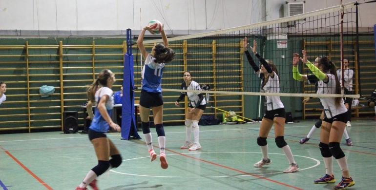L'under 18 della Lazio VeS in campo oggi contro la Piva-Giro Volley