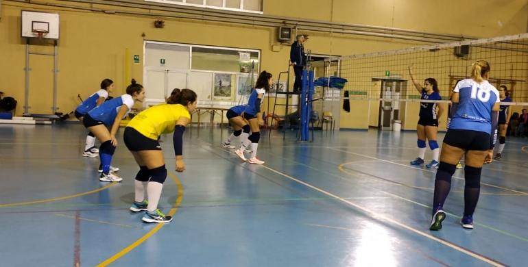 L'under 18 femminile della Lazio VeS sconfitta dall'ASD Volleyrò