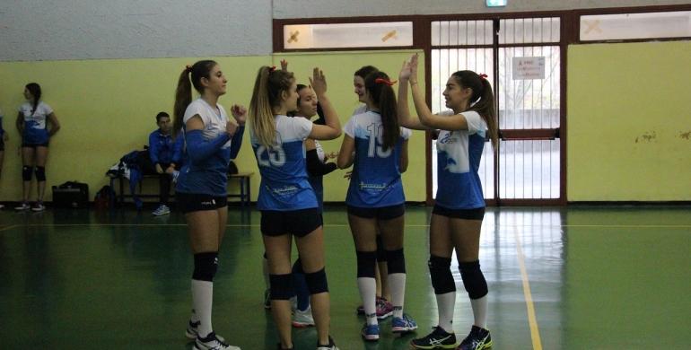 Si chiude con una sconfitta la prima fase dell'under 18 femminile della Lazio VeS