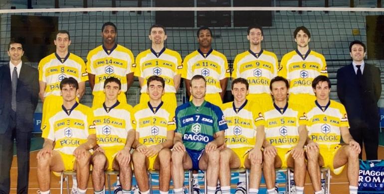 17 maggio 2000. Vent'anni dallo scudetto della Piaggio Roma Volley